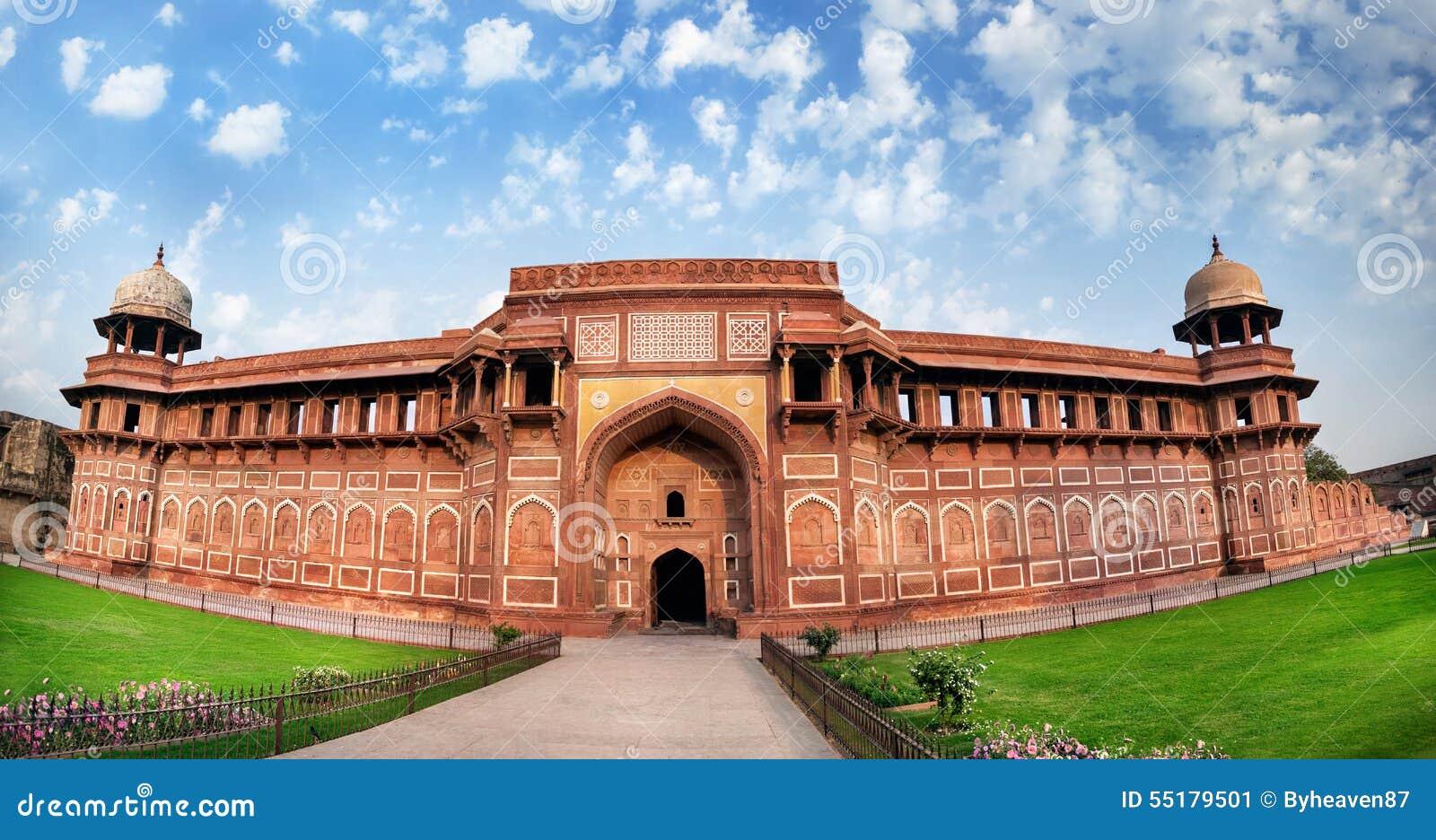 Het fort van Agra in India