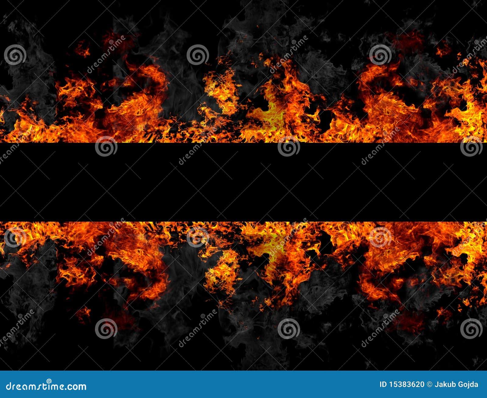 Het frame van de brand stock illustratie afbeelding bestaande uit conceptueel 15383620 - Prieel frame van ...