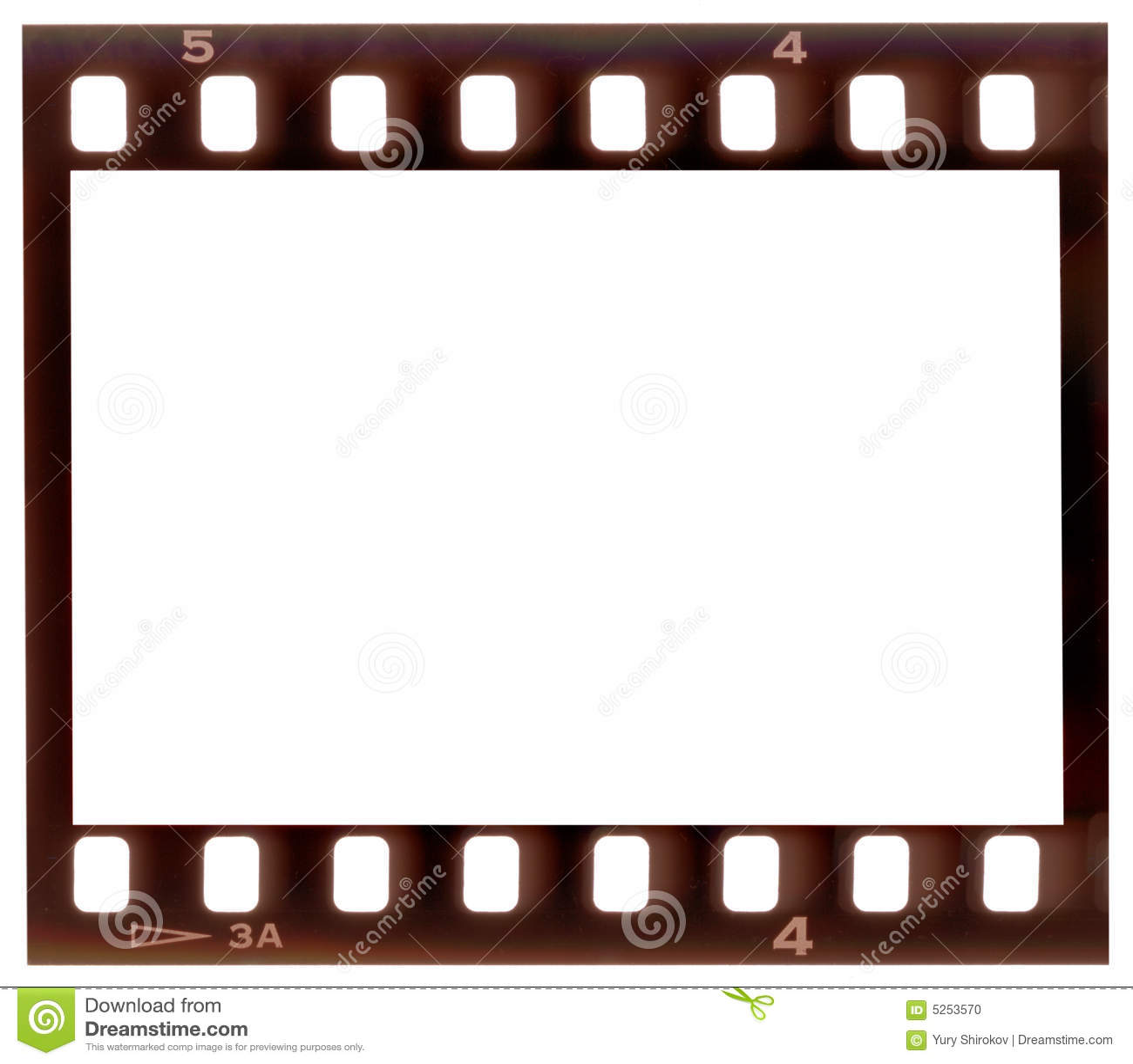 Het frame van de film