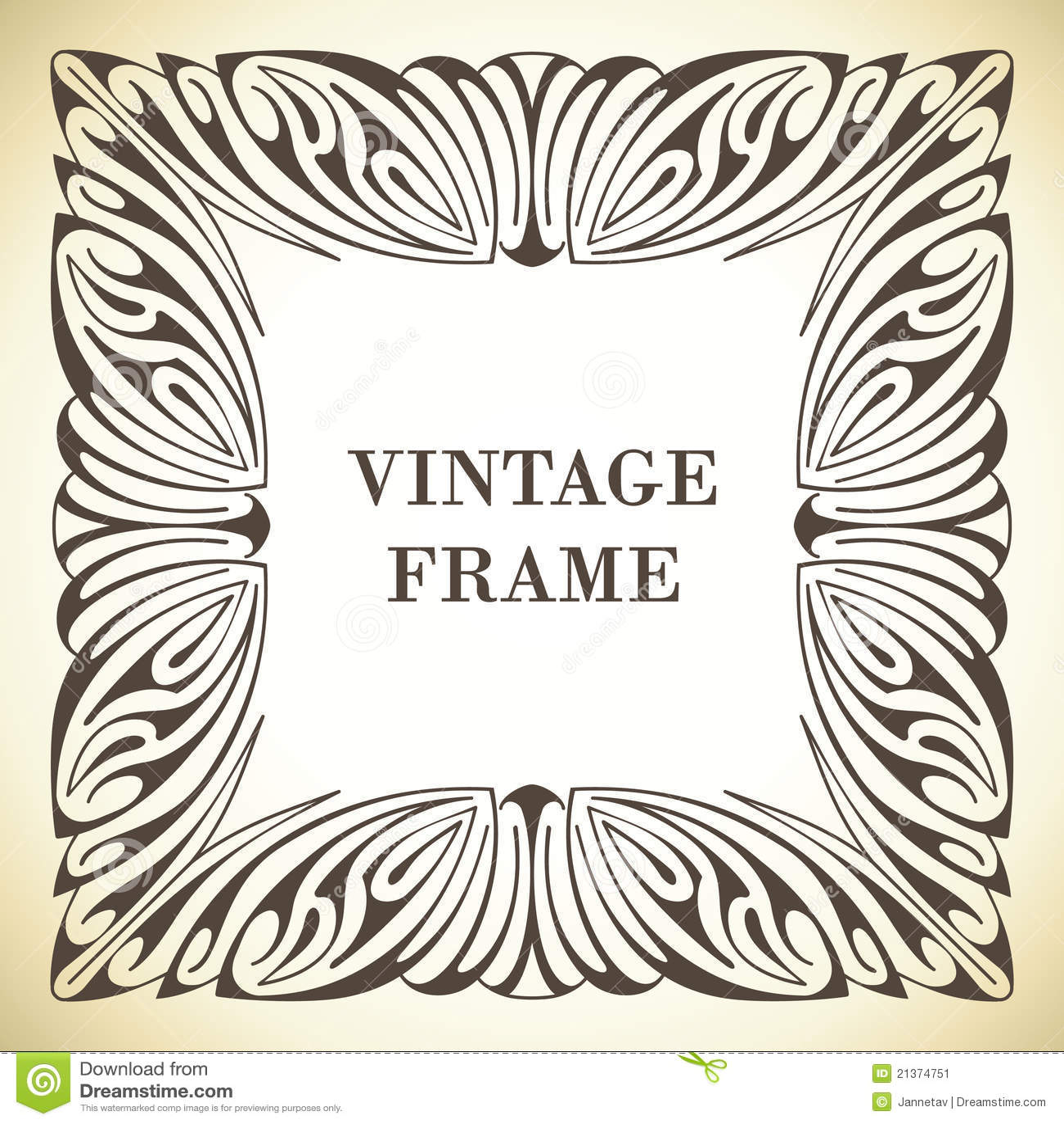 Het frame van de Jugendstil