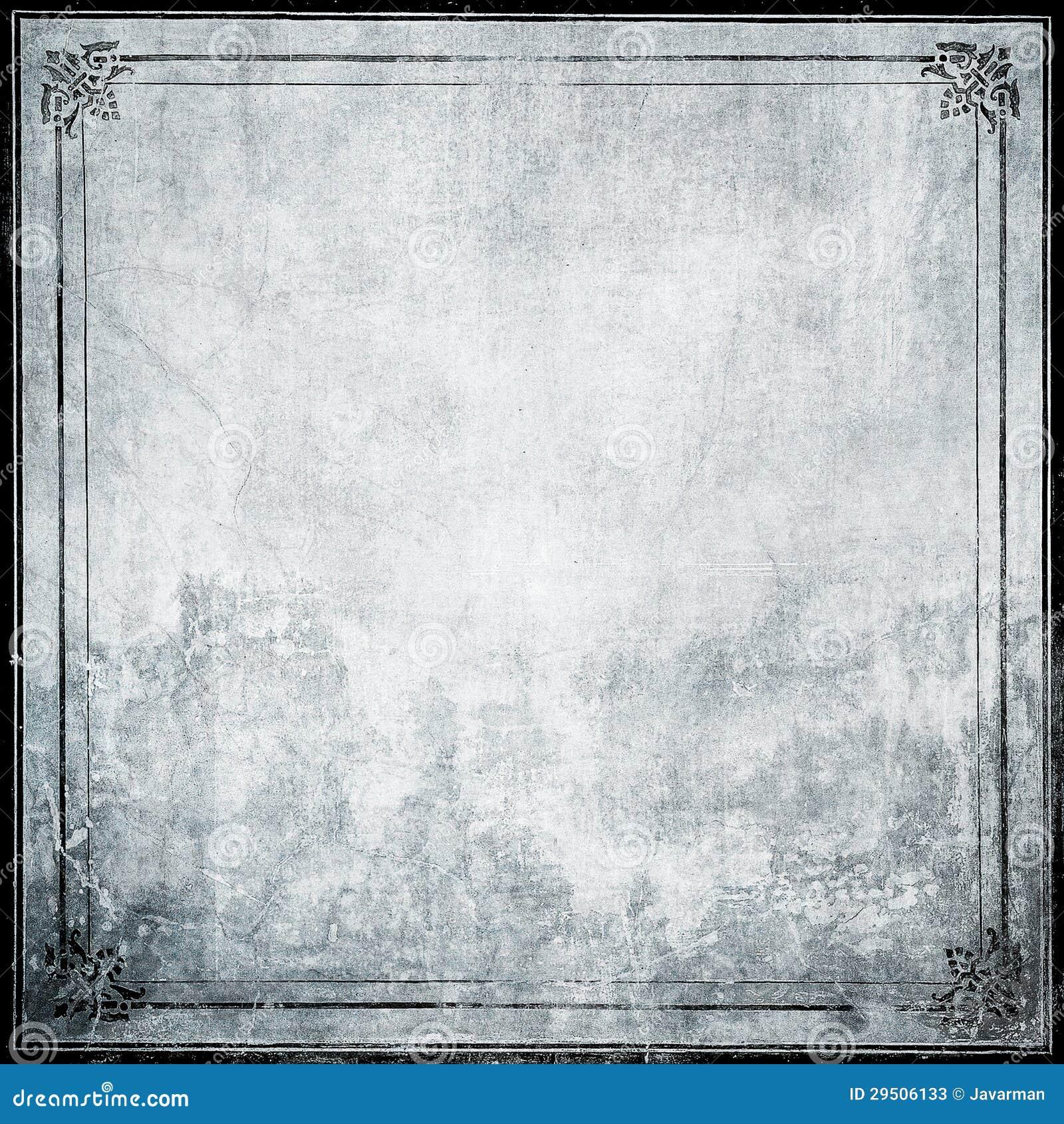 Het frame van Grunge met ruimte voor tekst of beeld
