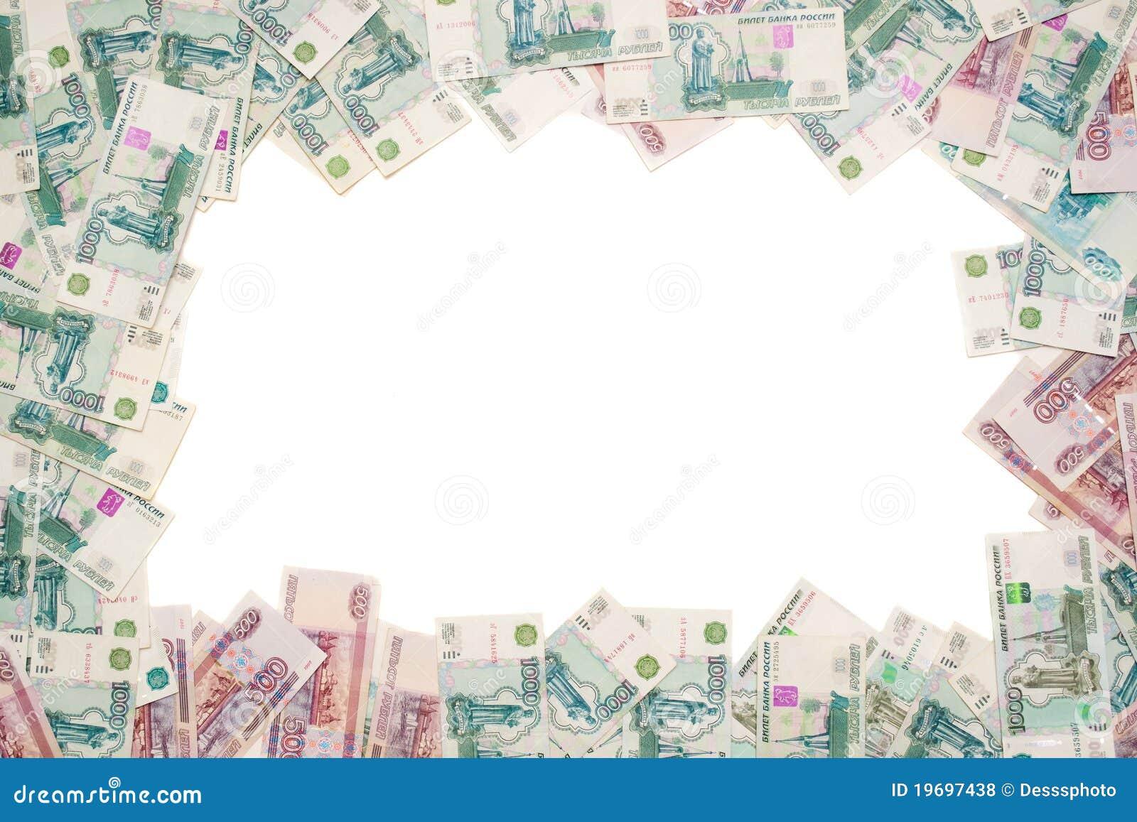 Het frame van het geld