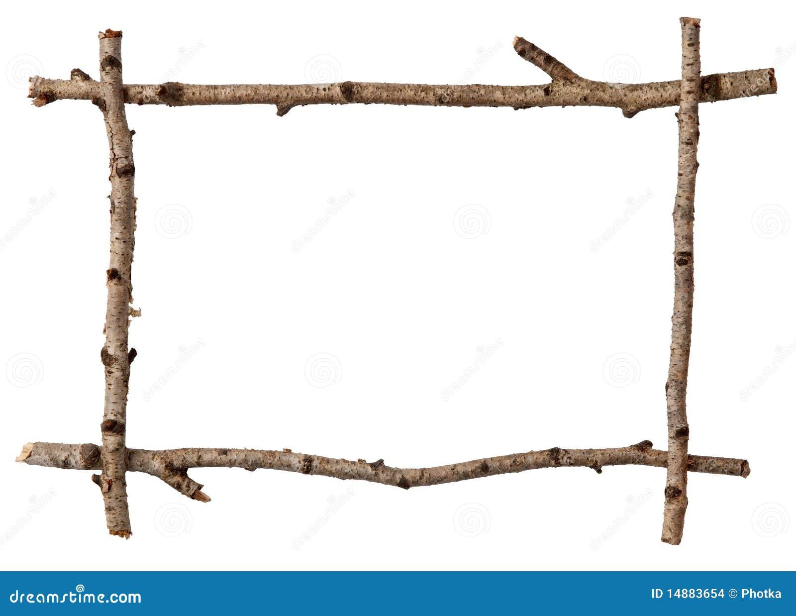 Het frame van het takje