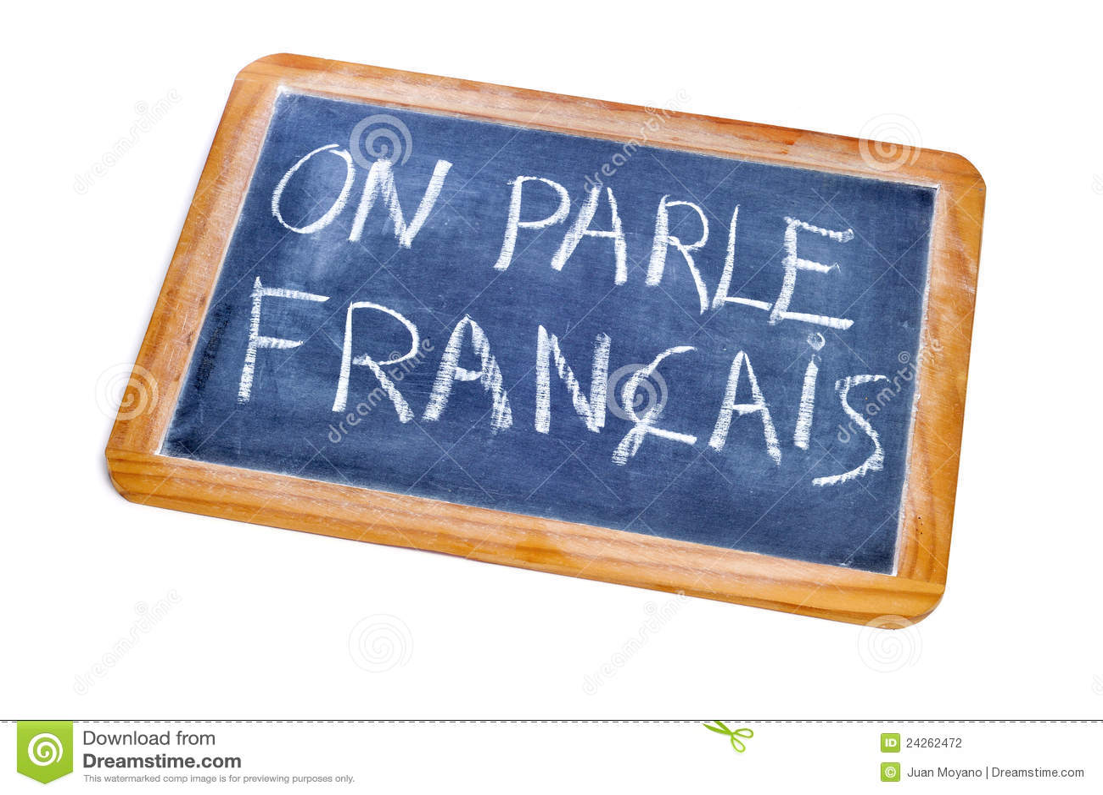 Het Frans wordt gesproken
