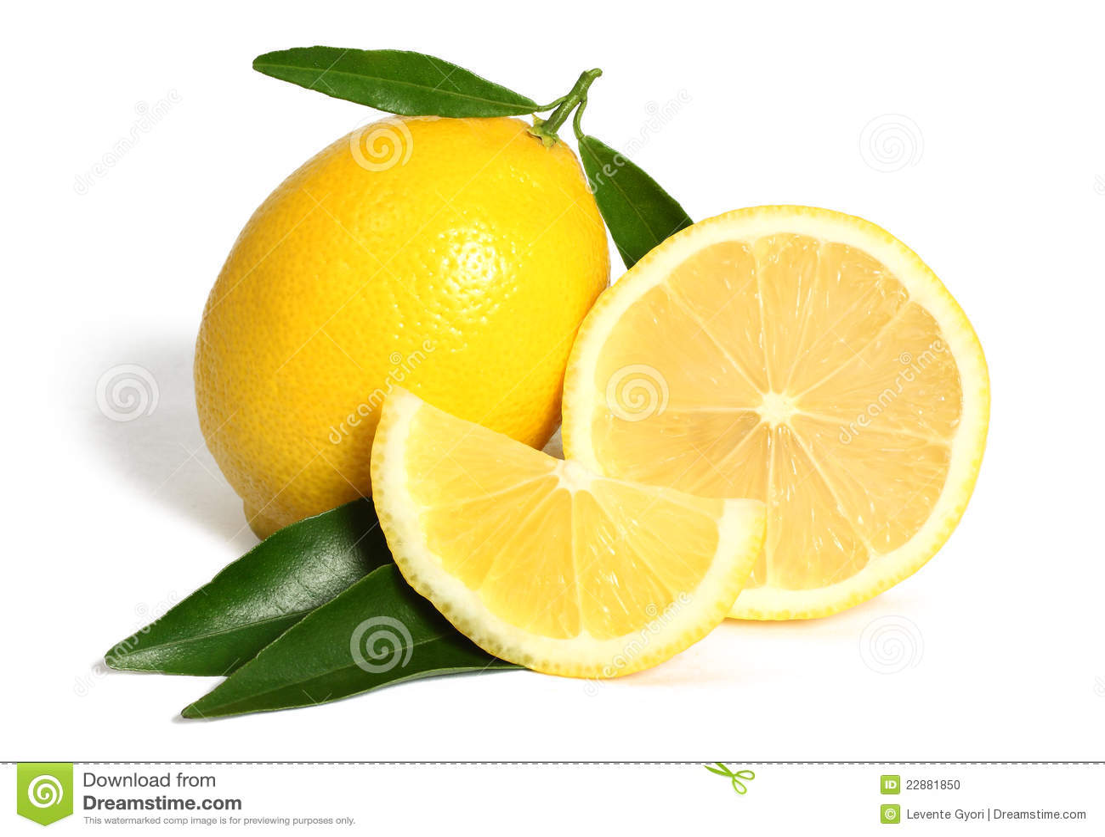 Het fruit van de citroen