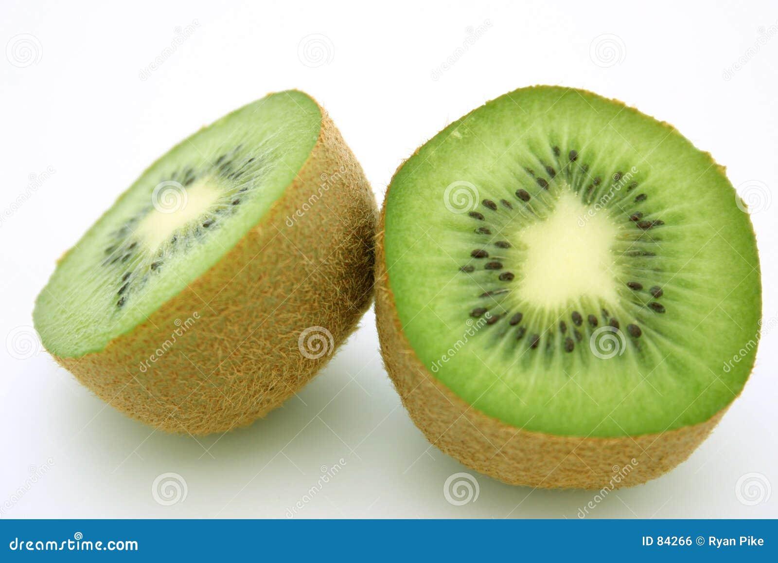 Het fruit van de kiwi