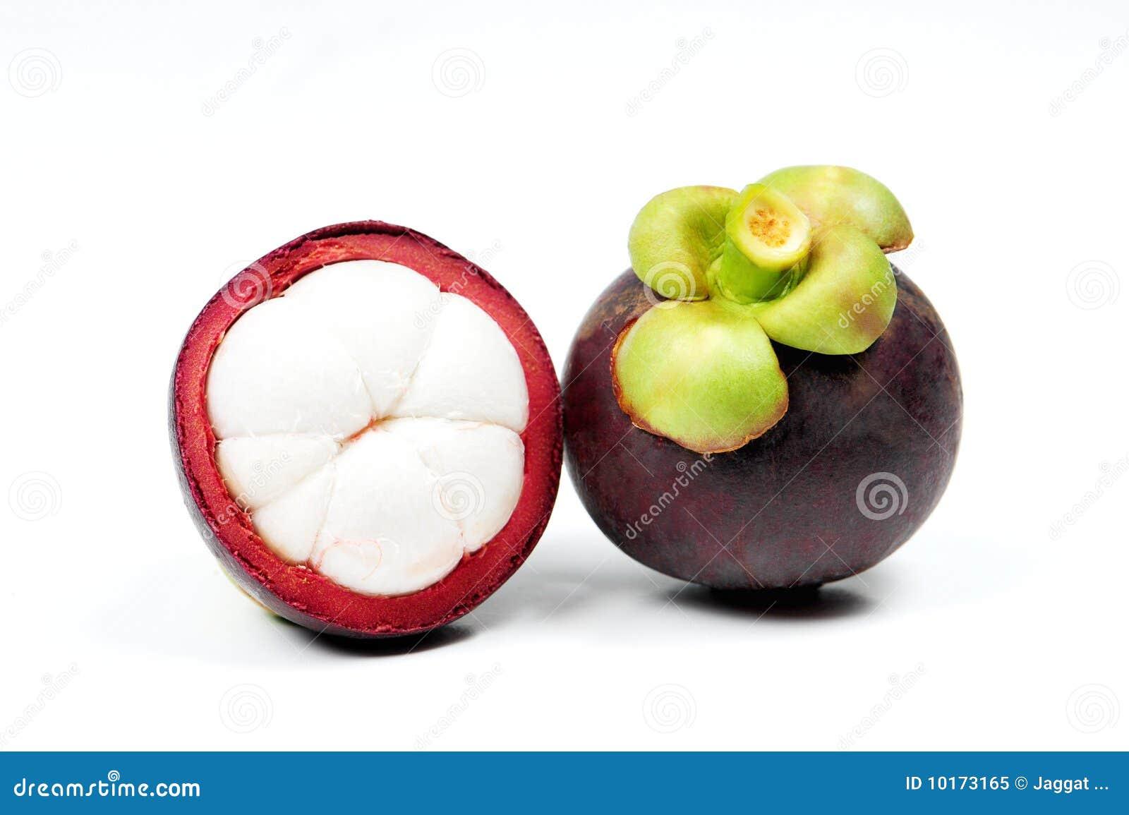 Het Fruit van de mangostan