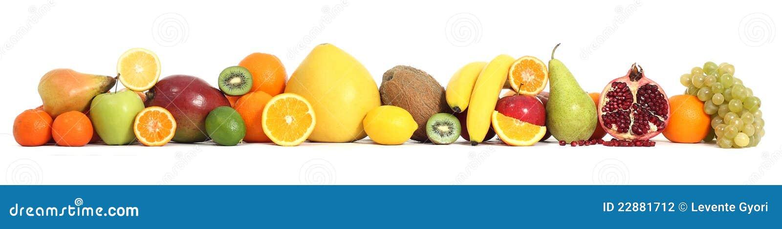 Het fruit van het voedsel