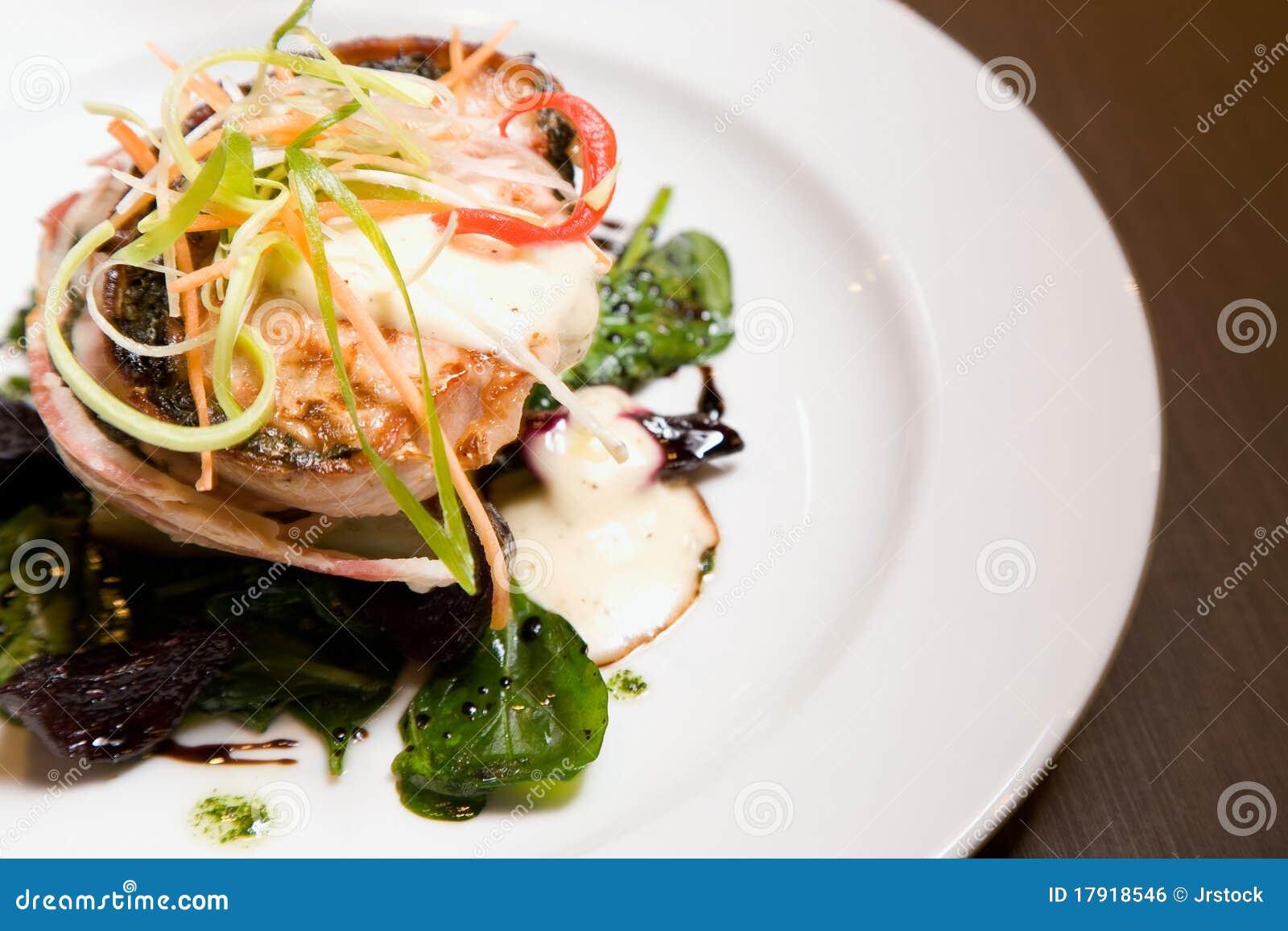 Het gastronomische Diner van de Kip