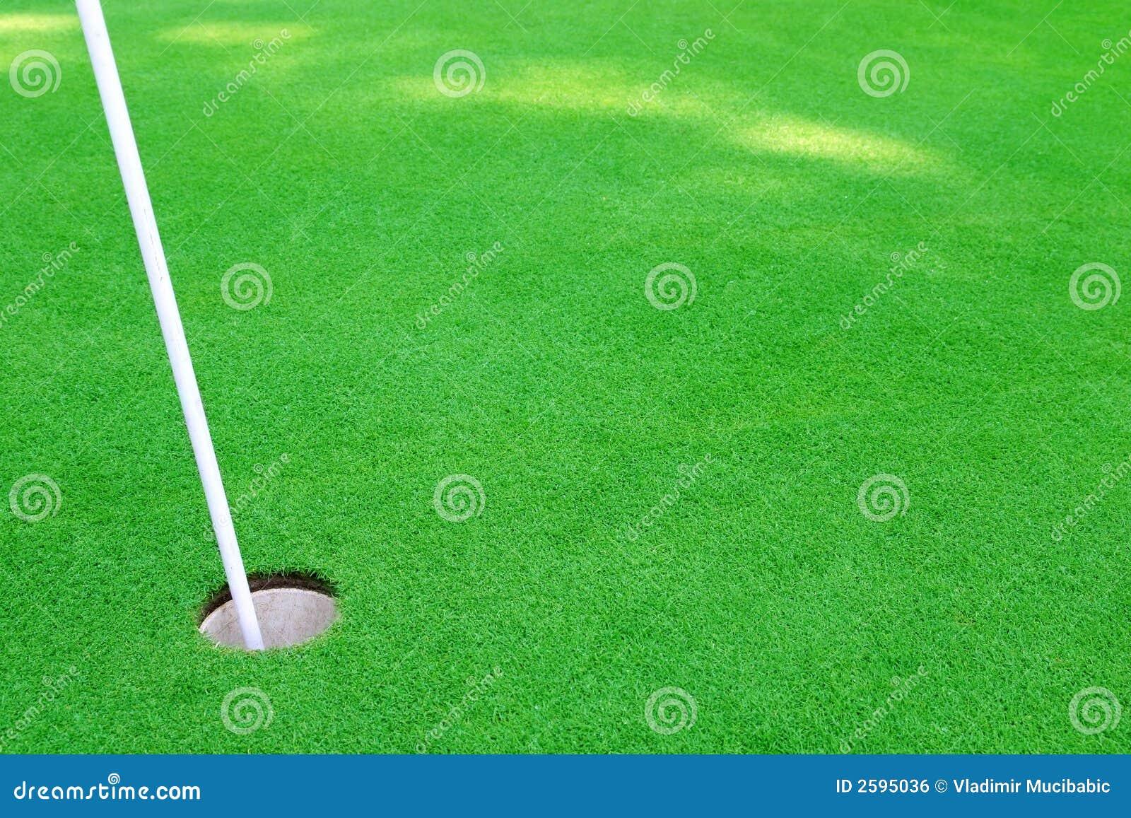 Het gat van het golf