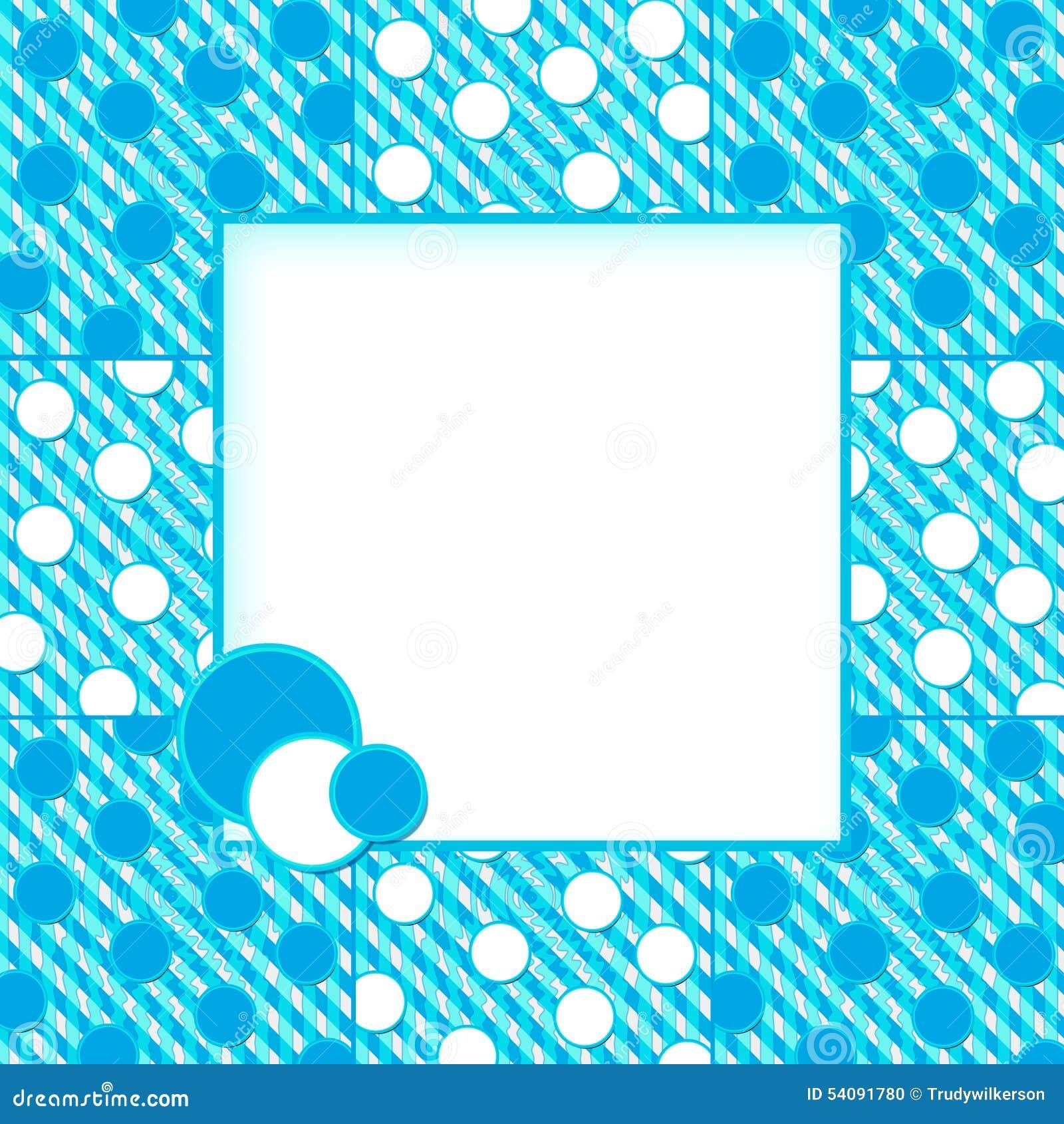 Het Gebied van Aqua Blues Abstract Background w/Text
