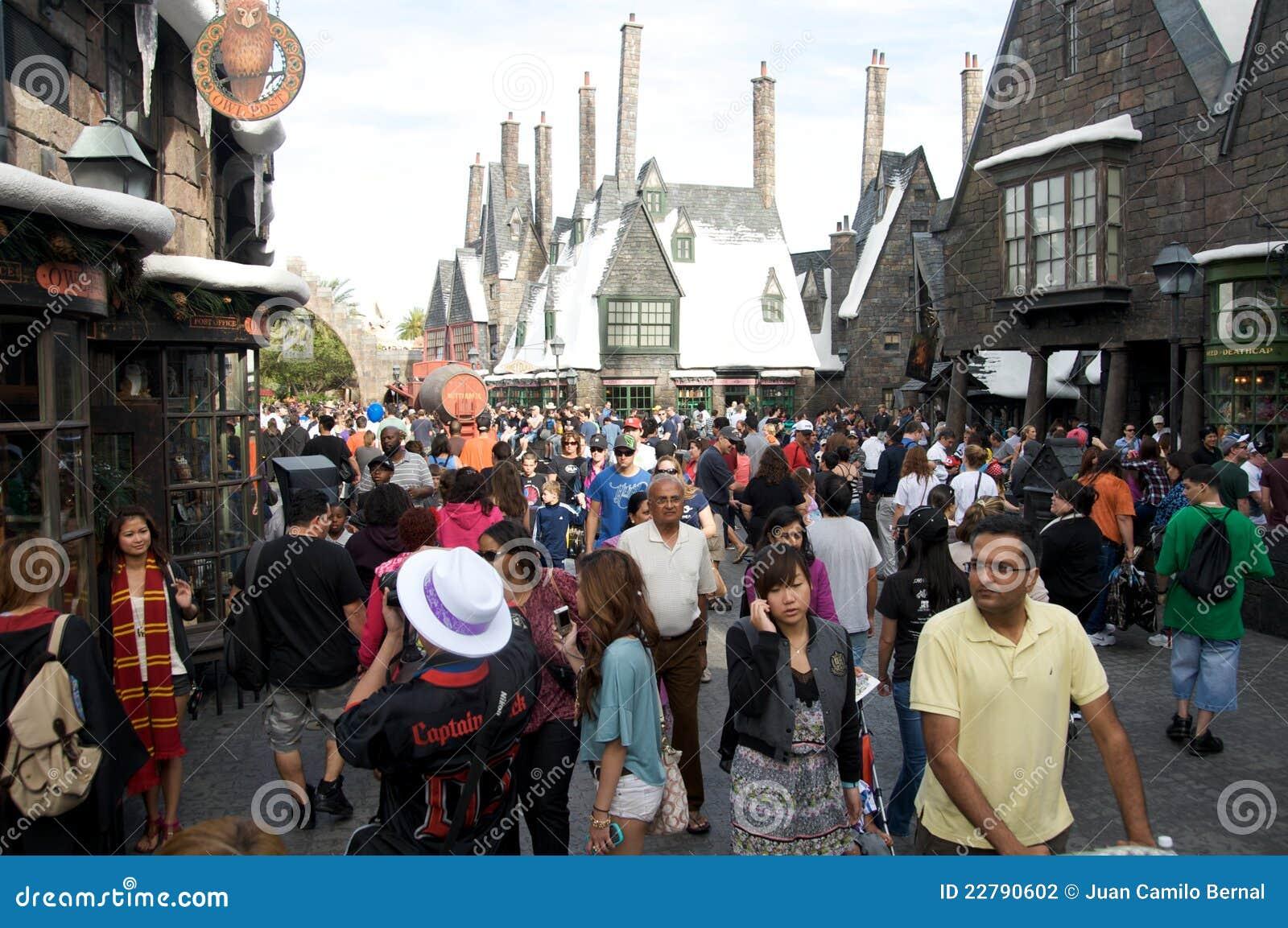 Het gebied van Harry Potter bij Universele Studio s Orlando