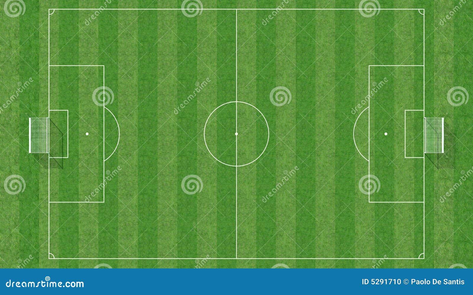 Het gebied van het voetbal van hoogste mening