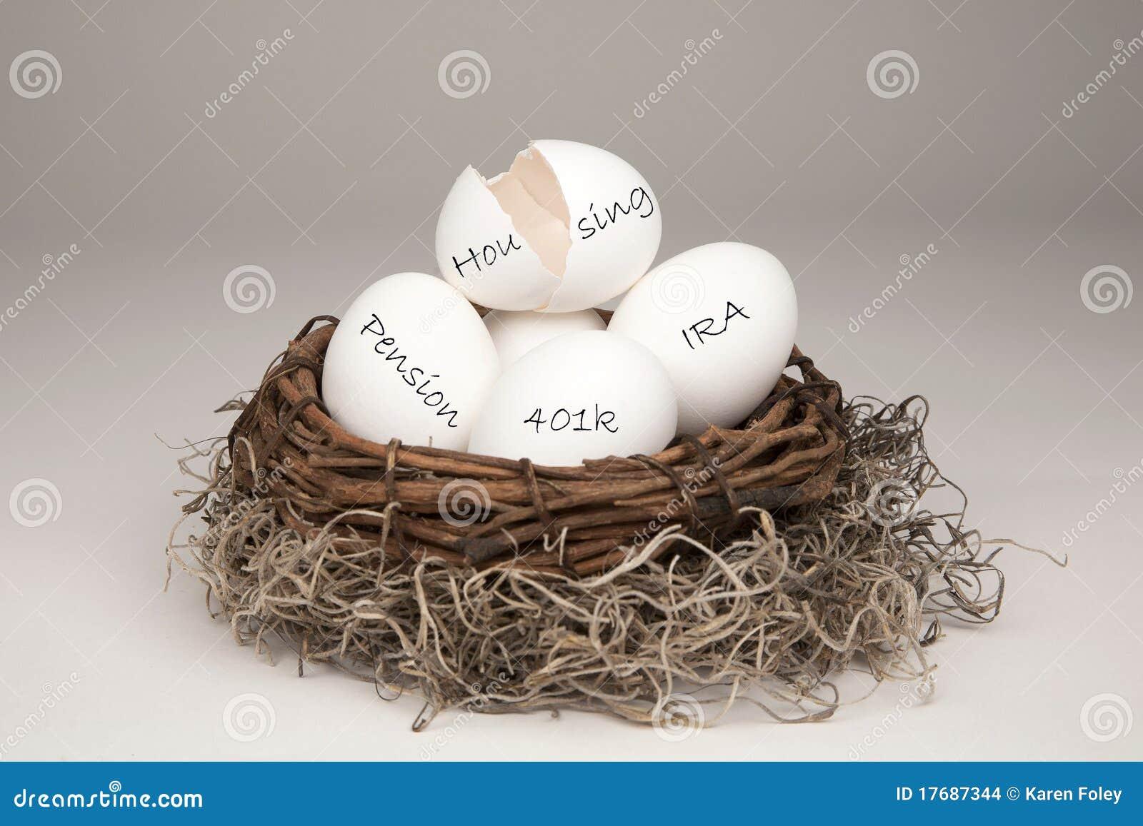 Het gebroken Eiwit van het Nest