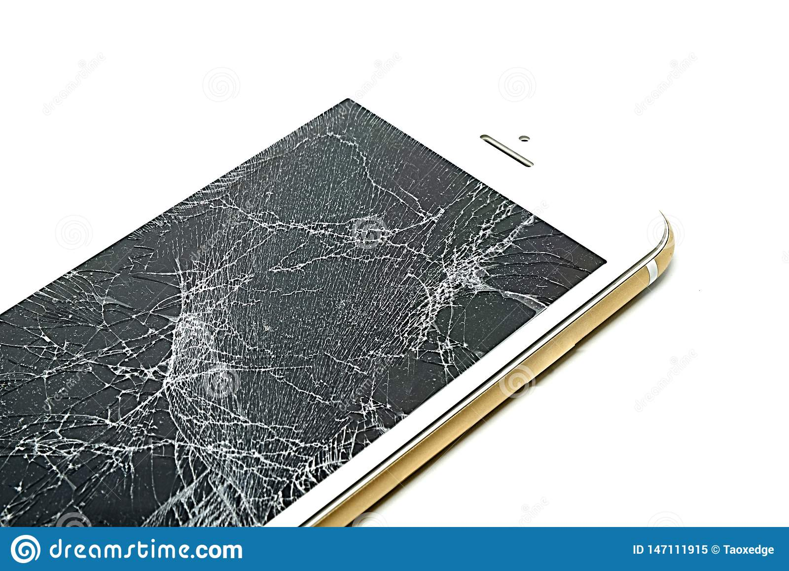 Het gebroken scherm