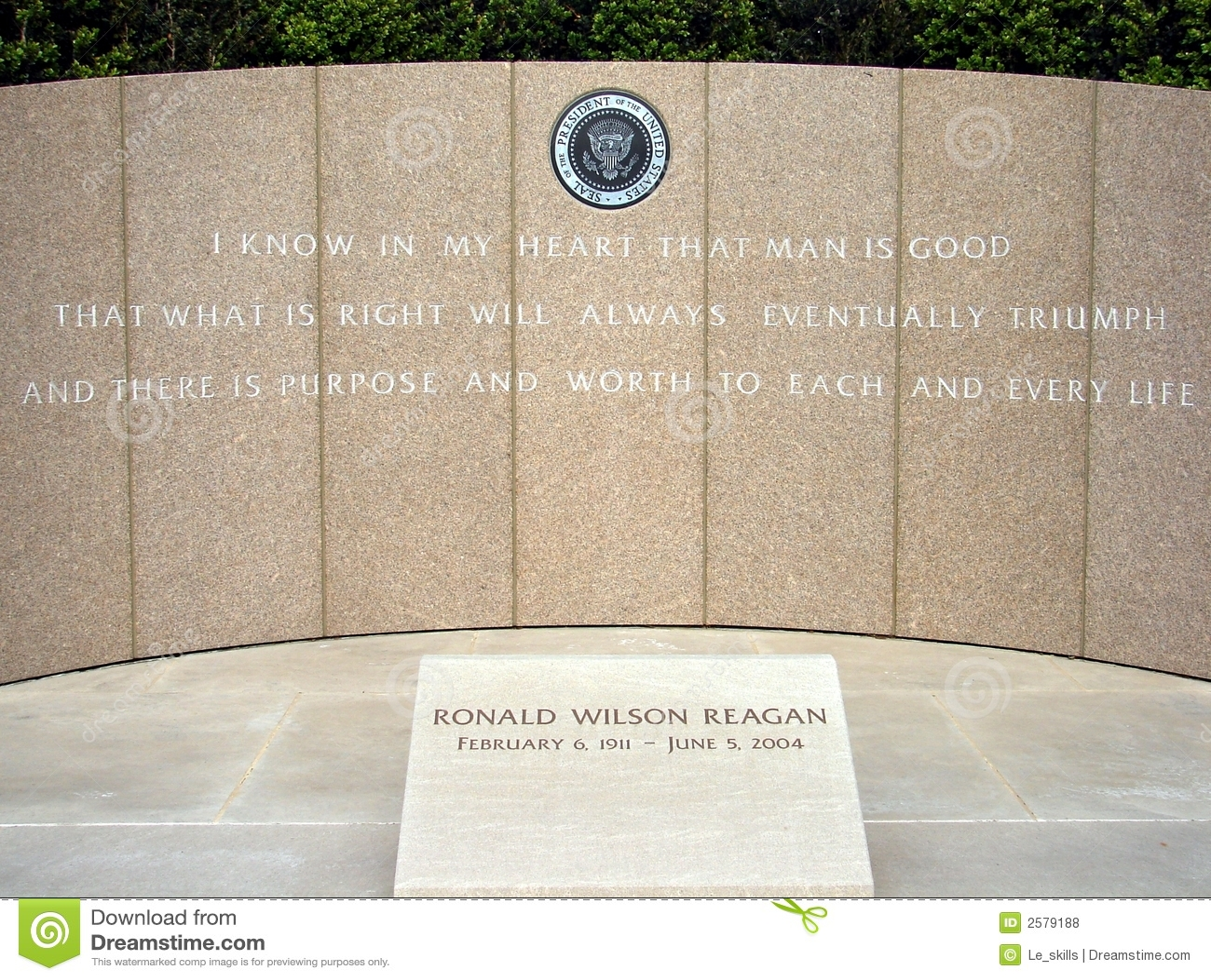 Het Gedenkteken van Ronald Reagan