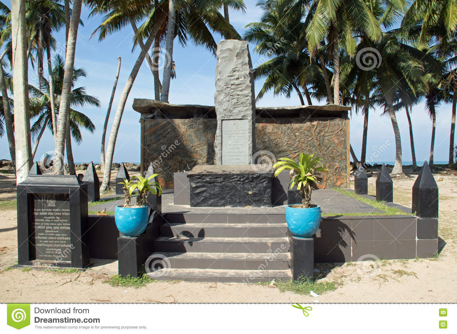 Het Gedenkteken van Tsunamihonganji Vikara