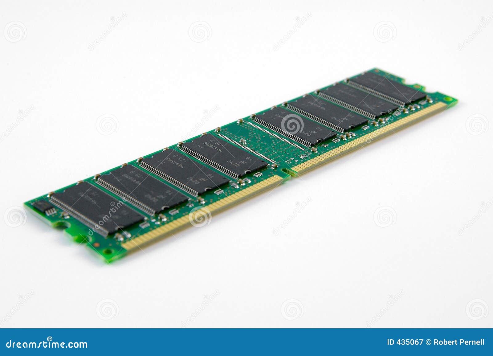 Het geheugenSpaander van de RAM