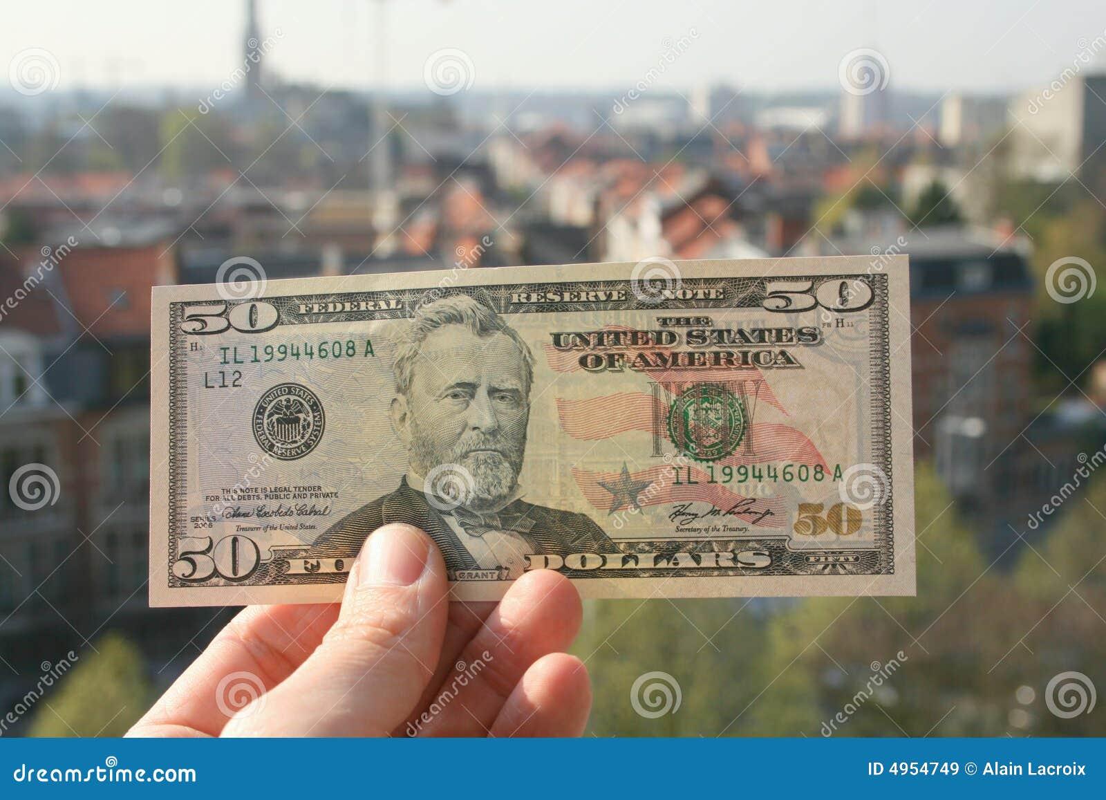 Het geld beslist de wereld