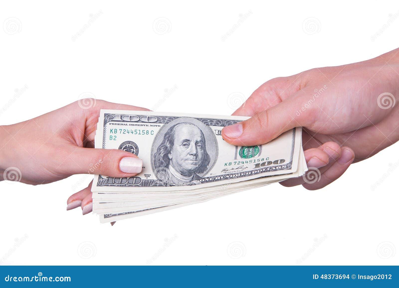 Het geld van de handoverdracht
