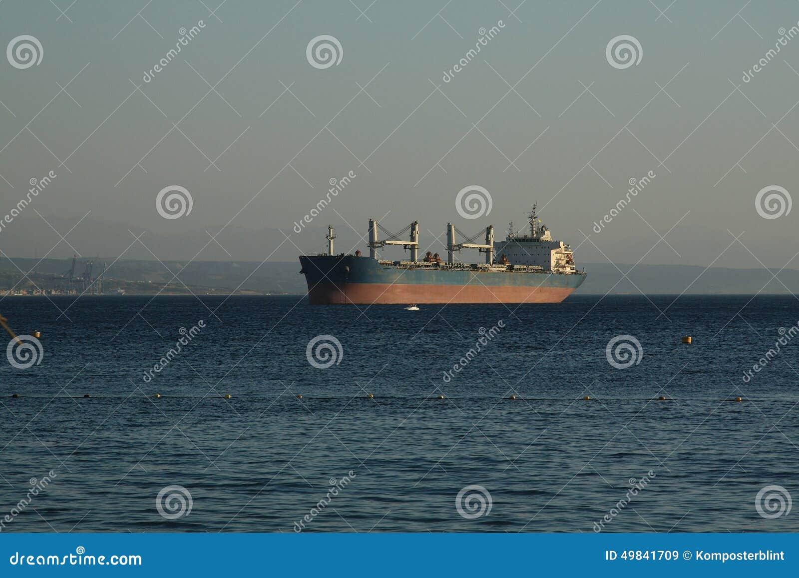 Het gelijk maken in de haven
