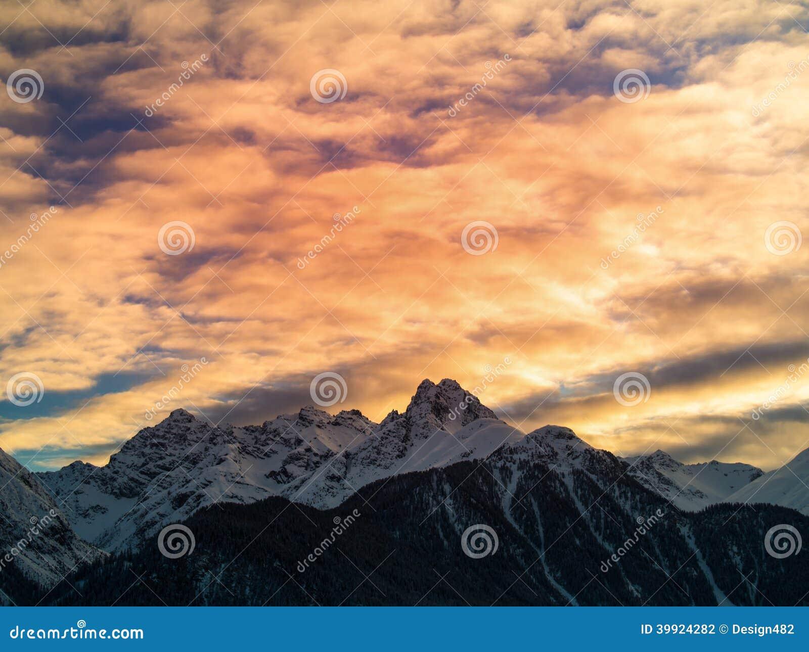 Het gelijk maken in de Zwitserse Alpen