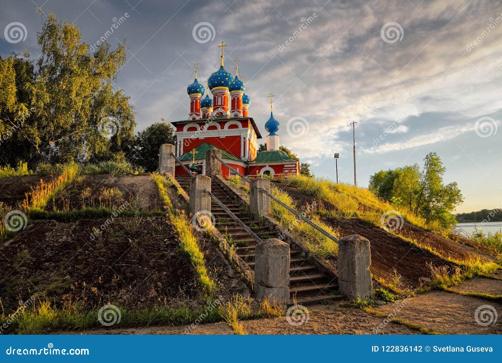 Het gelijk maken in Uglich Rusland provincies