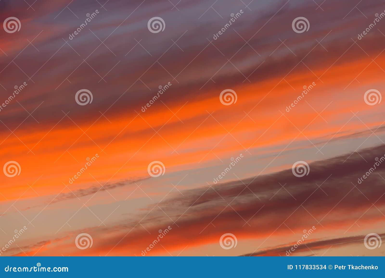 Het gelijk maken van rode zonsondergangtextuur