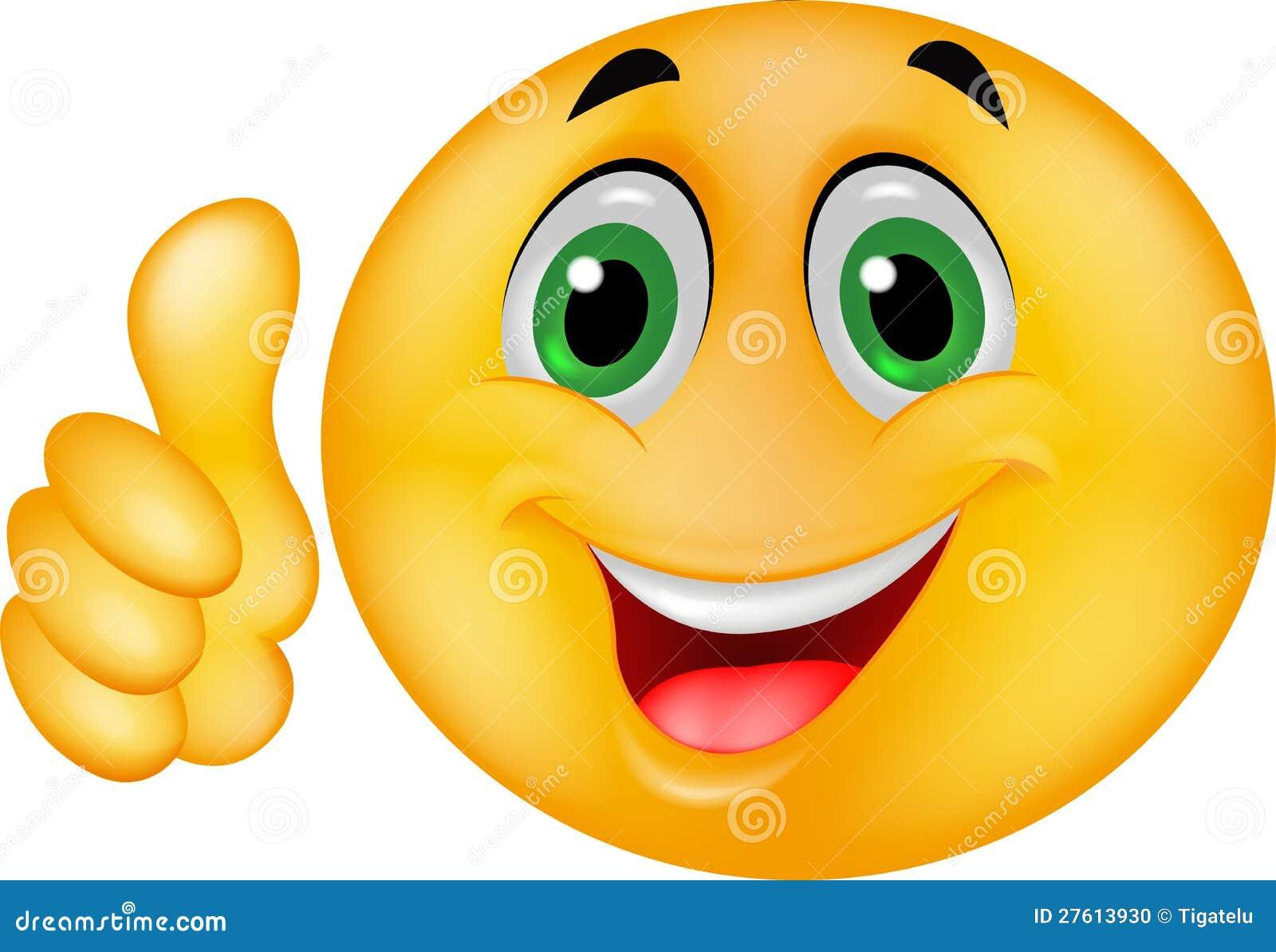 Het gelukkige Gezicht van Smiley Emoticon