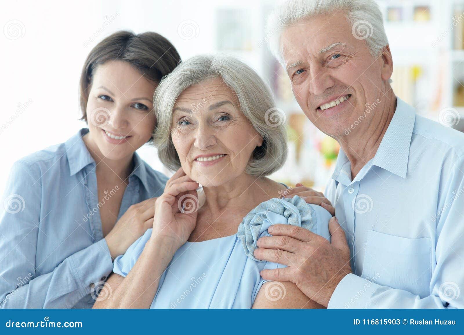 Het gelukkige Portret van de Familie