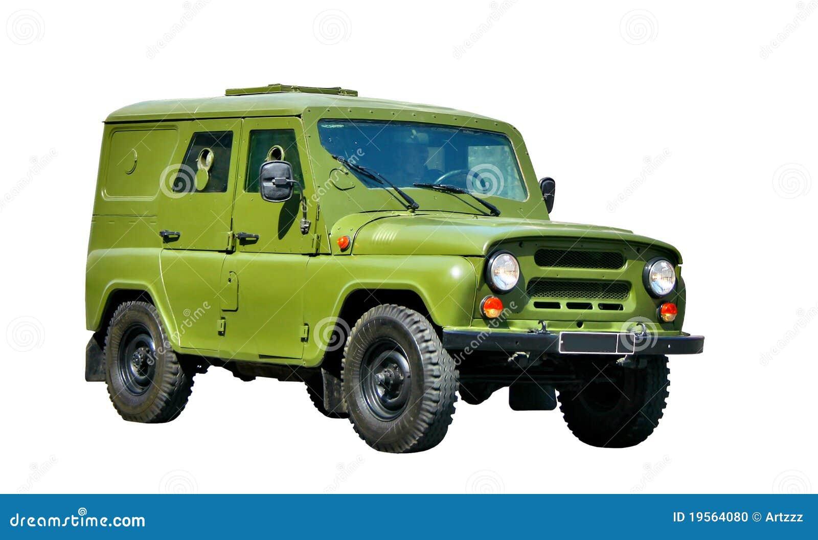 Het gepantserde voertuig van het leger