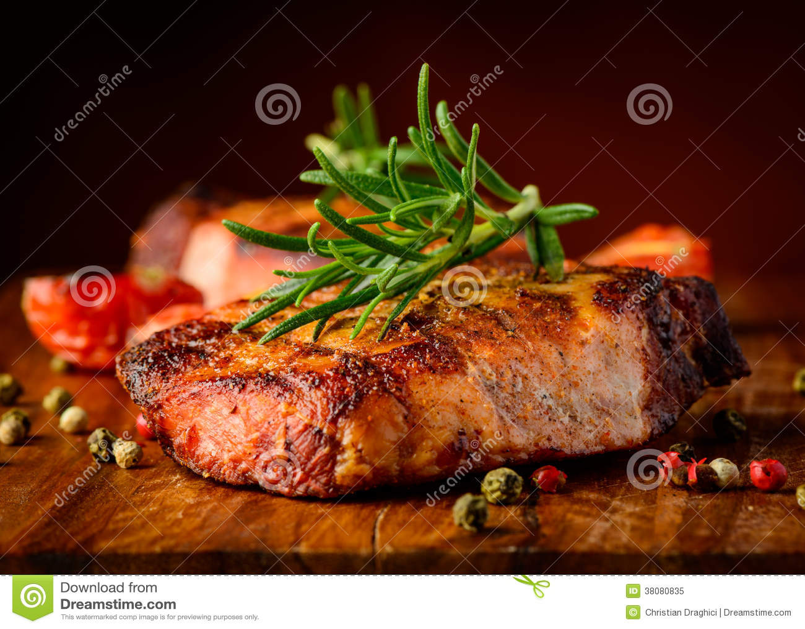 Het geroosterde detail van de lapje vleesclose-up