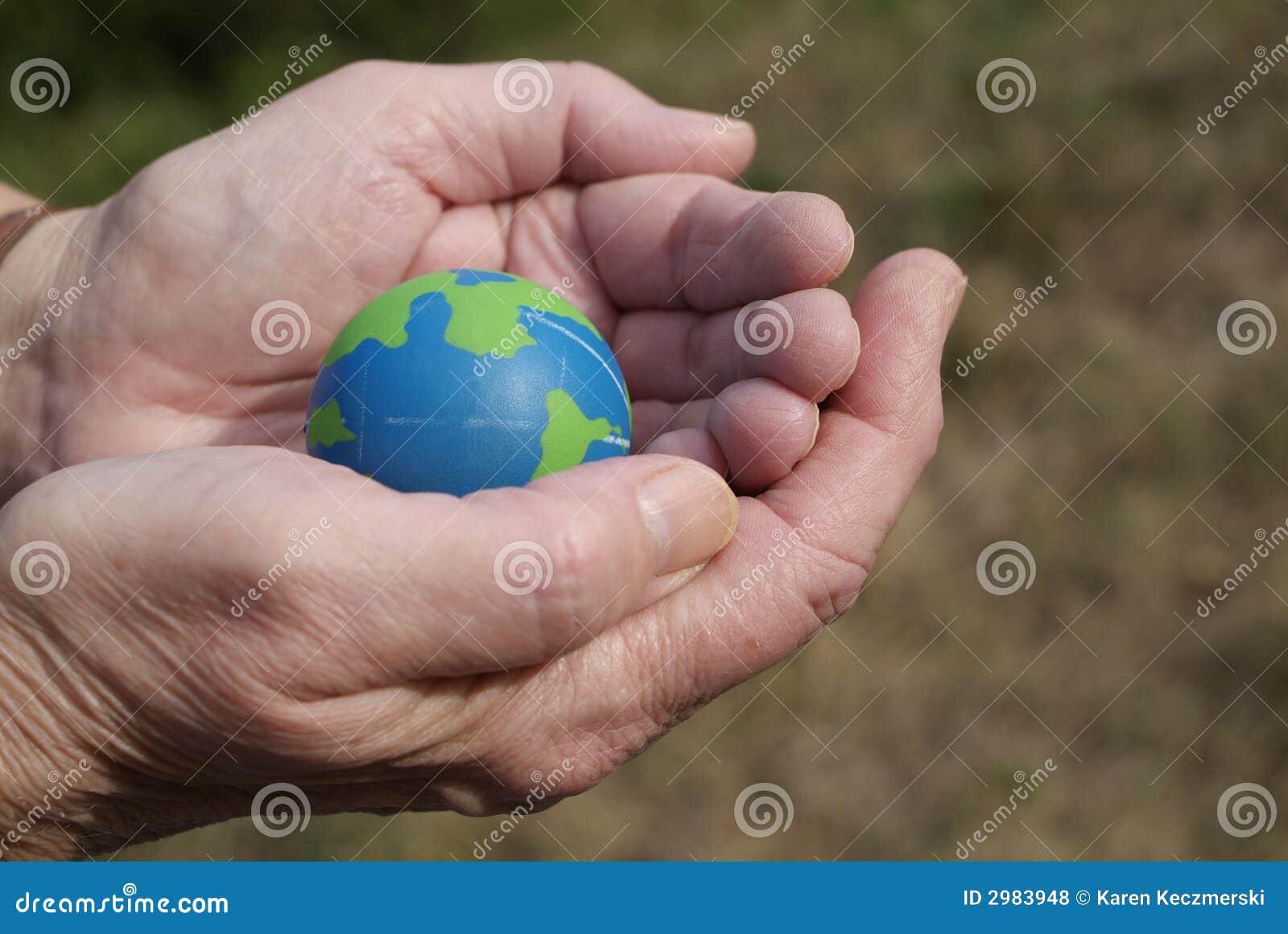 Het geven voor het milieu