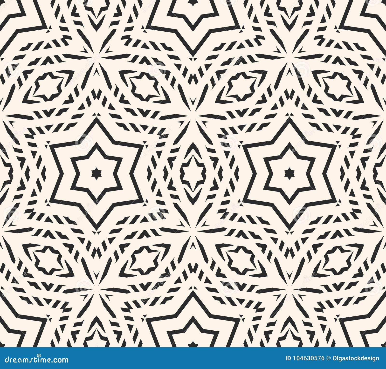 Download Het Gevoelige Vector Naadloze Patroon, Siert Geometrische Textuur Vector Illustratie - Illustratie bestaande uit wit, ontwerp: 104630576