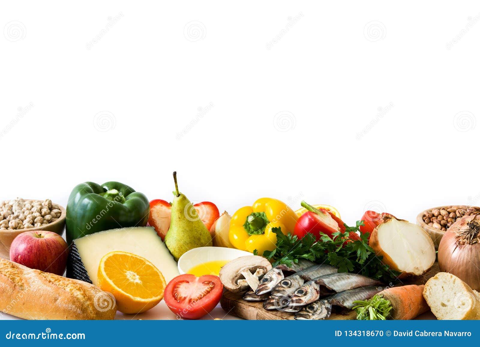 Het gezonde Eten De ui van de olijf Geïsoleerd fruit en groenten