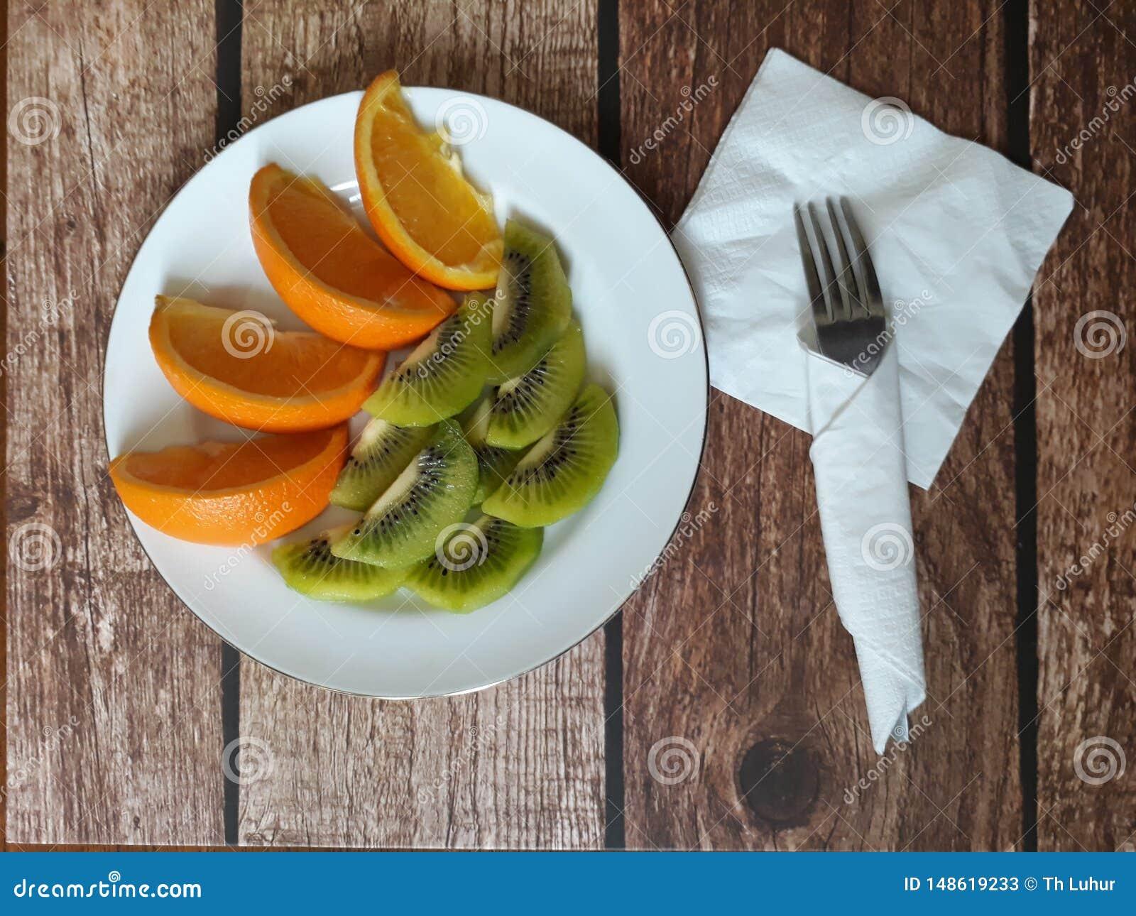 Het gezonde fruit van het voedsel vrije pesticide