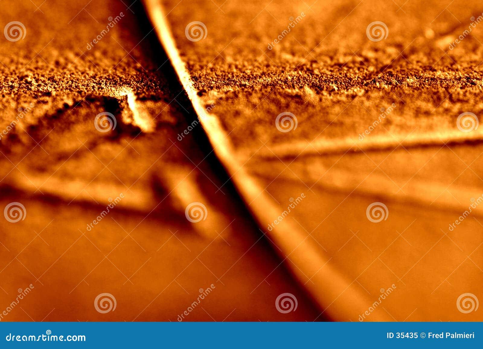 Het gillen Oranje Textuur 1 van de Zonnewijzer