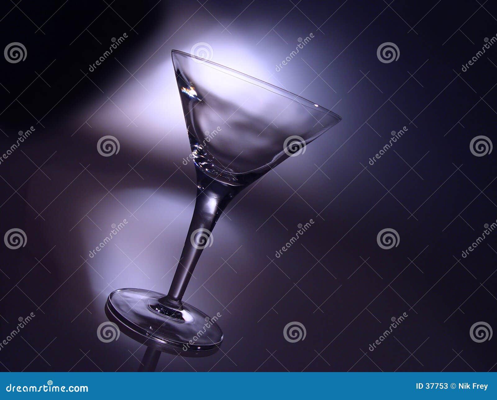 Het glas van de cocktail