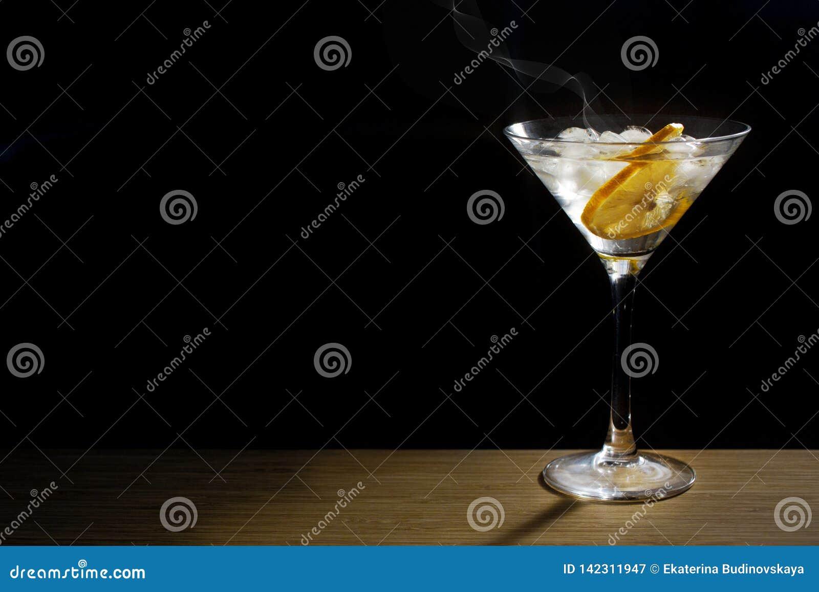 Het glas van de glascocktail