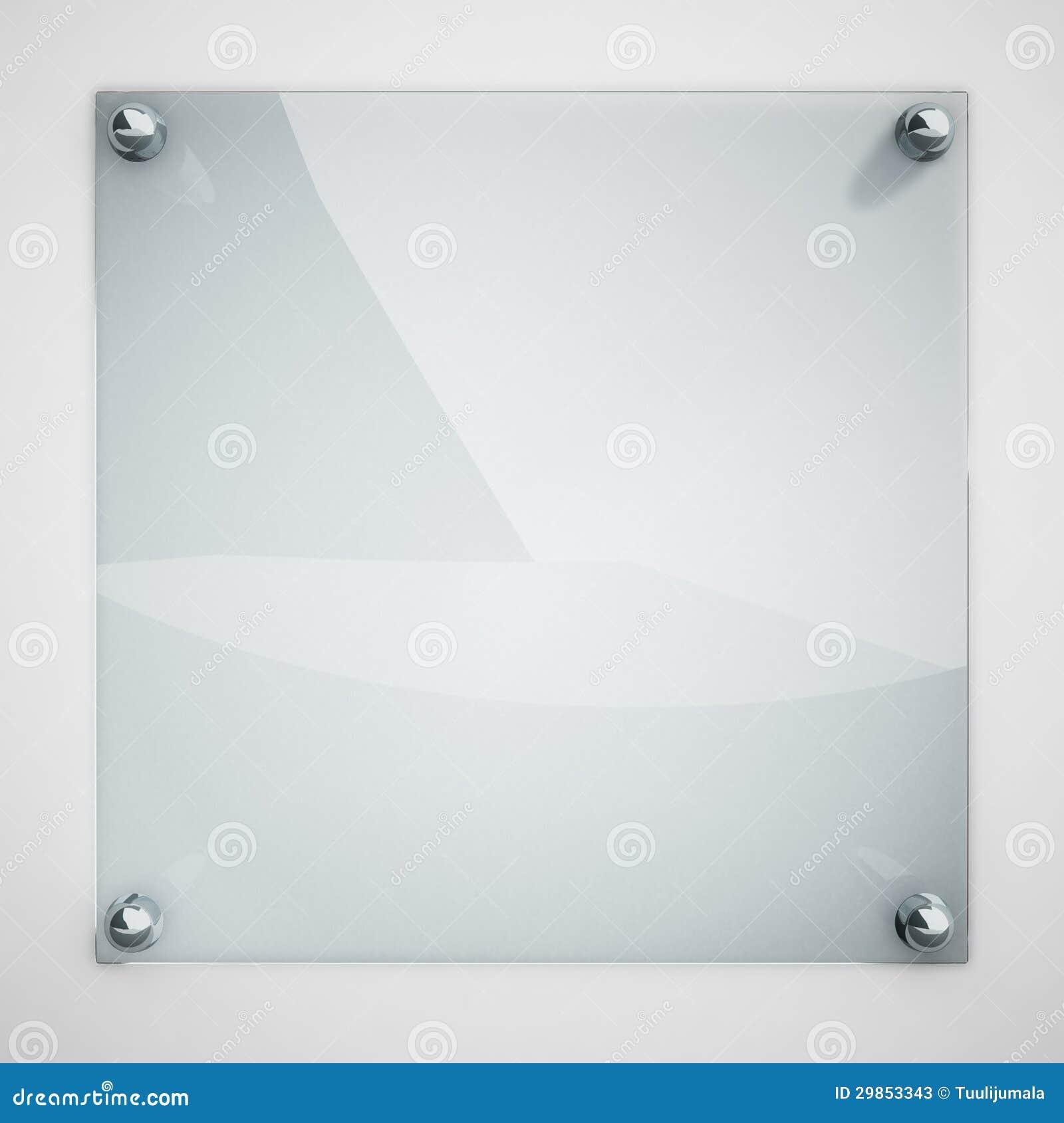 Het glasplaat van de bescherming stock foto 39 s beeld 29853343 - Binnenkleuren met witte muur ...