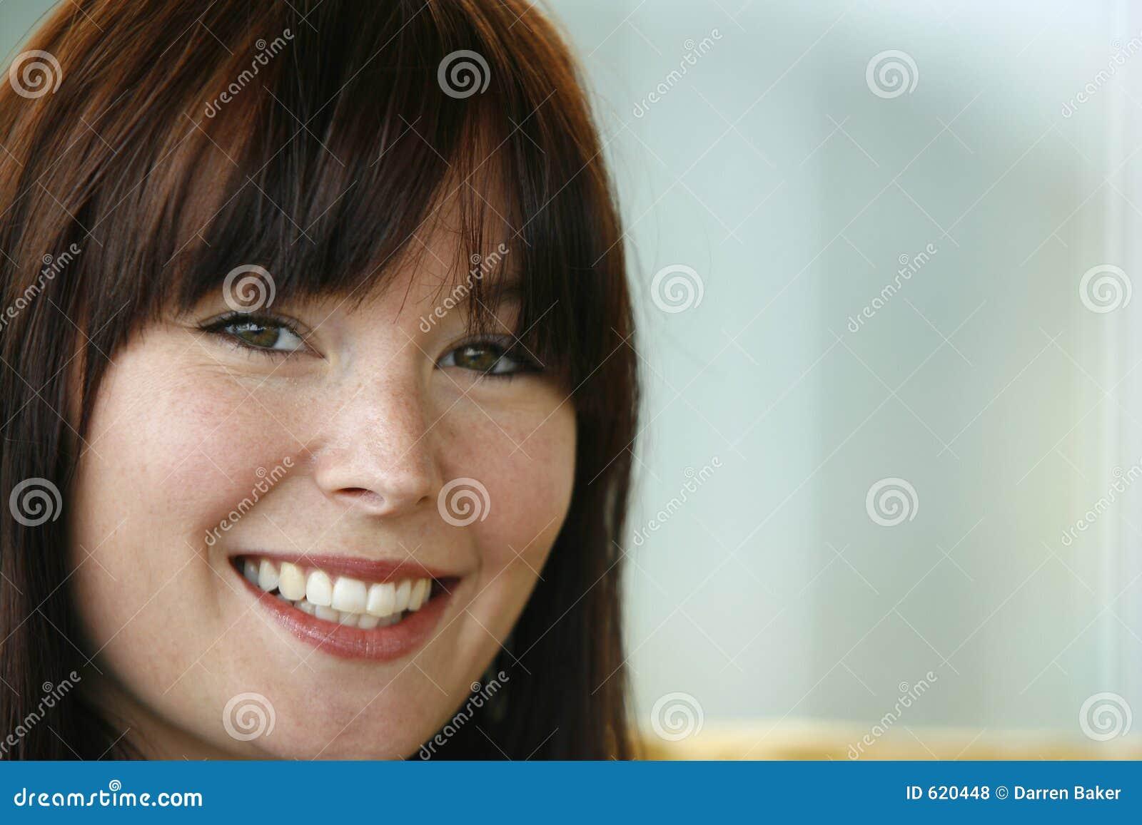 Het glimlachen bij u