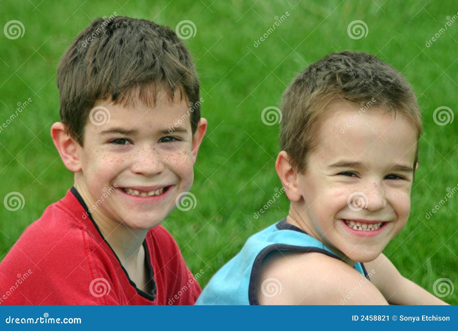 Het Glimlachen van broers