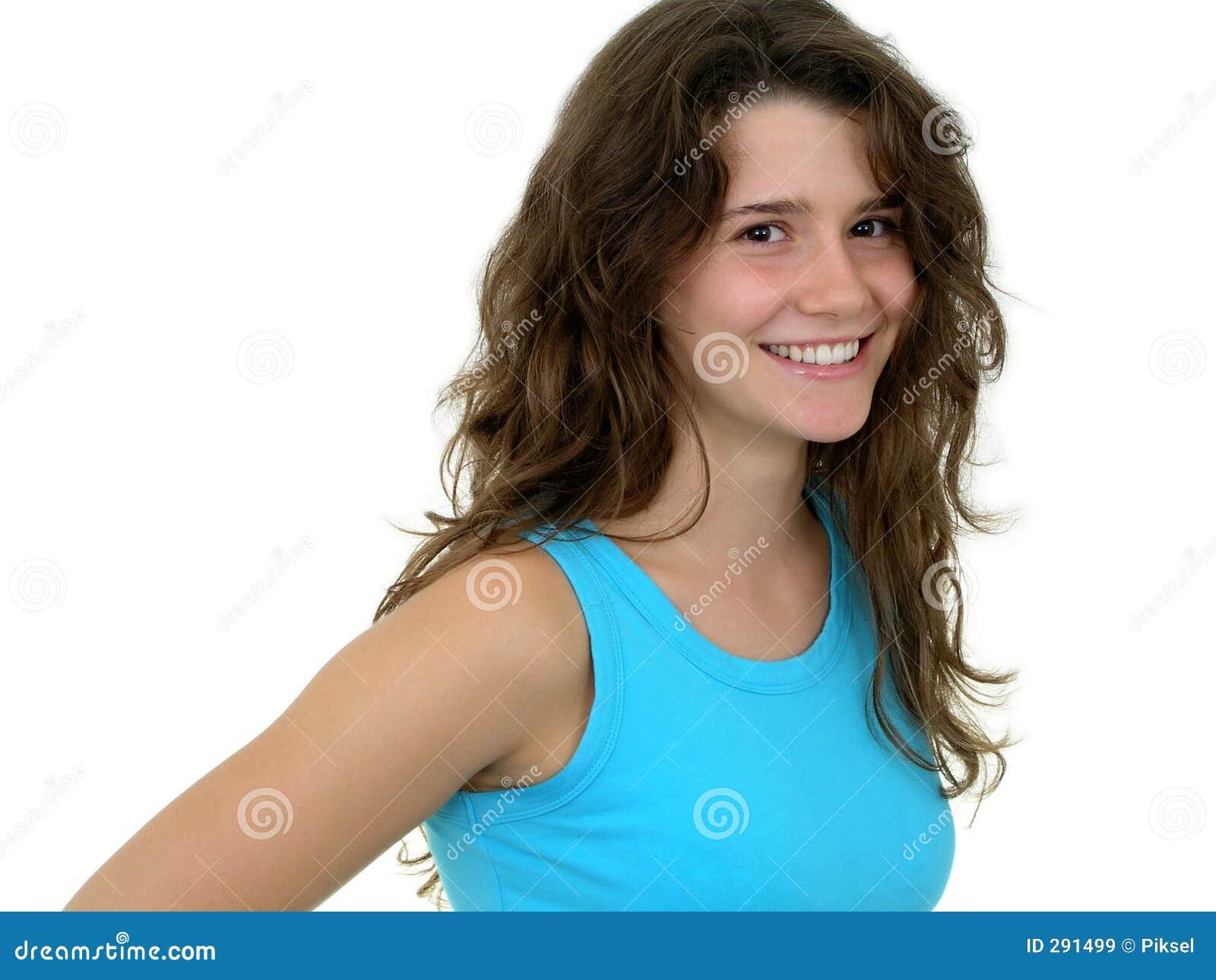 Het glimlachen van het meisje