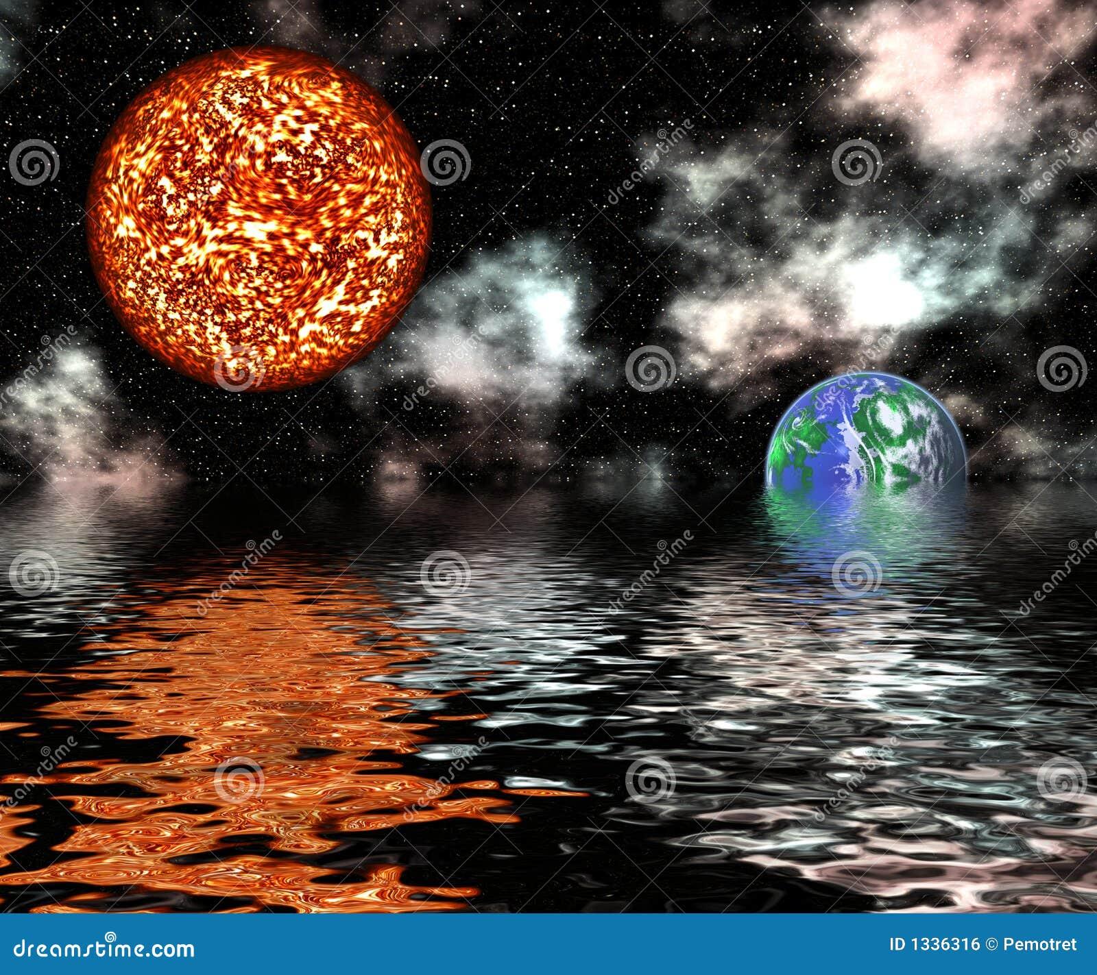 Het globale Verwarmen