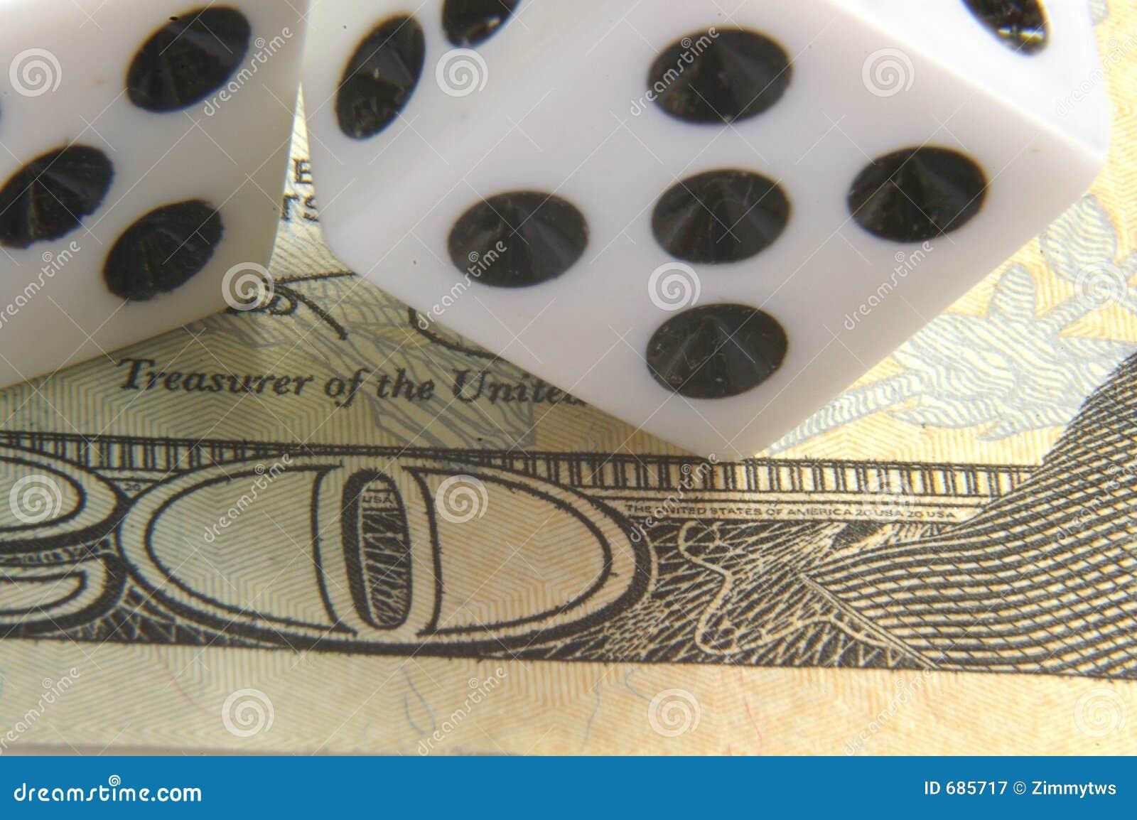 Het gokken op het