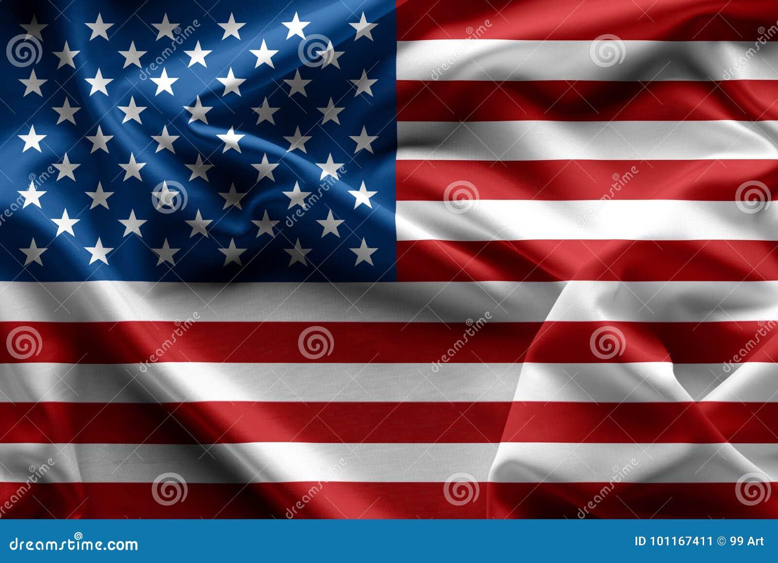 Het golven de Amerikaanse textuur van de vlagverenigde staten van amerika, backgrou