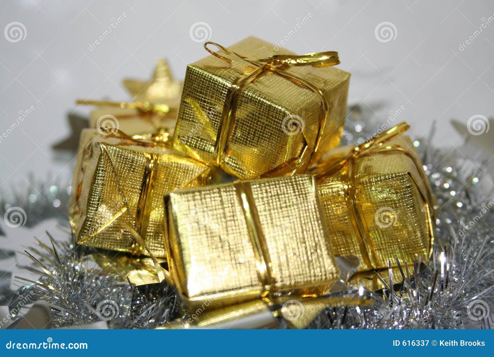 Het goud stelt voor
