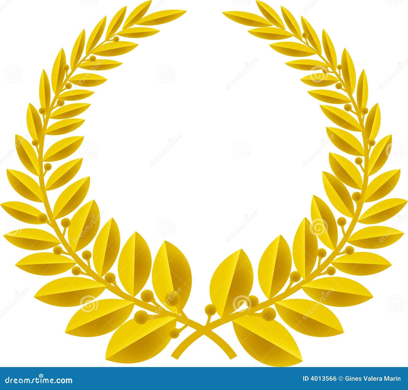 Het goud van de lauwerkrans (vector)
