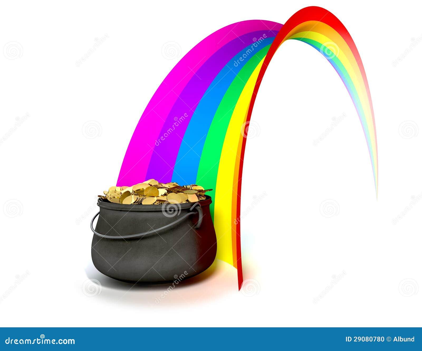 het goud van o van de pot aan het eind van een regenboog pot of gold clipart black and white pot of gold clipart coloring sheet