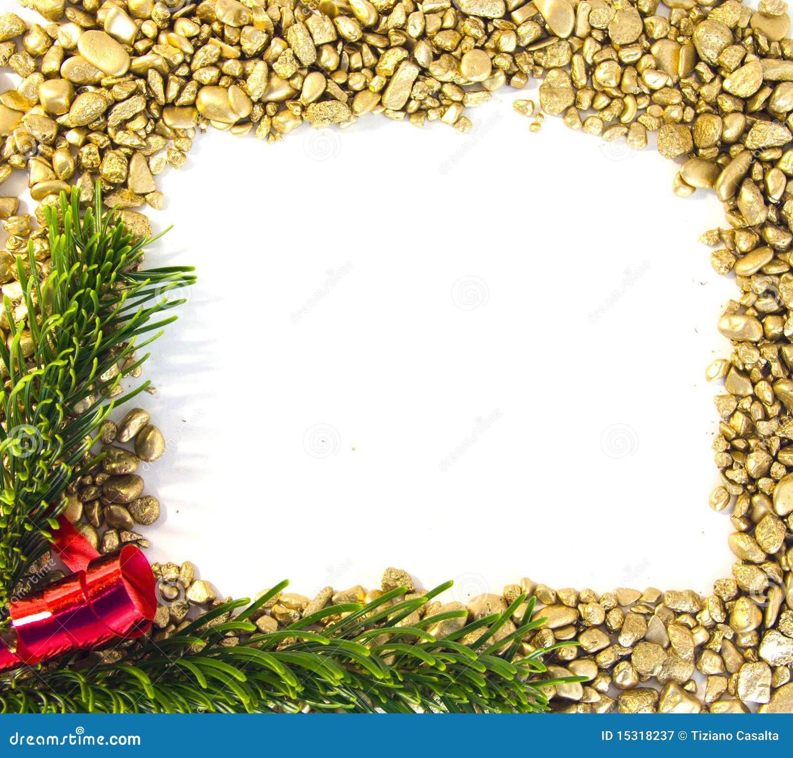 Het Gouden frame van Kerstmis